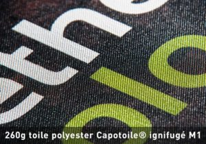 Impression sur toile polyester