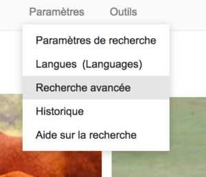 Parametres Google Image